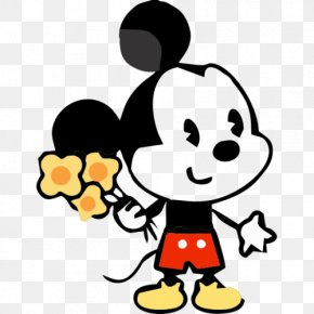 Minnie Mouse - Minnie Mouse Mickey Mouse Daisy Duck Pluto Clip Art PNG