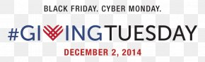 Black Friday - Giving Tuesday Cyber Monday Non-profit Organisation Black Friday Gift PNG