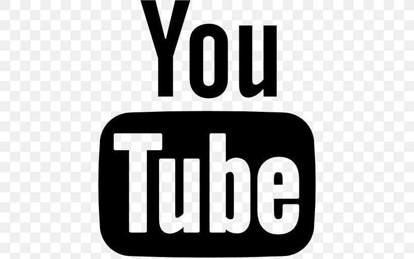 Youtube Logo Png 512x512px Youtube Area Black And White