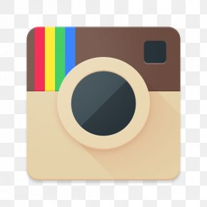 White INSTAGRAM Icon - Icon Design Instagram Material Design PNG