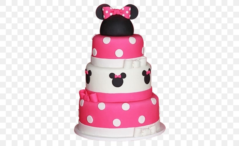 Pleasant Minnie Mouse Birthday Cake Mickey Mouse Party Png 500X500Px Funny Birthday Cards Online Elaedamsfinfo