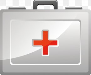 Red Cross Medicine Box Element - Health Care Medicine Nurse PNG