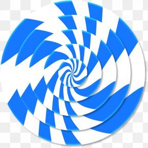 3D Photo - Spiral Three-dimensional Space Illustration PNG