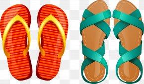 Slippers Sandals - Flip-flops Shoe Slipper Sandal Footwear PNG