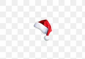Real Christmas Santa Hat Element - Red Wallpaper PNG