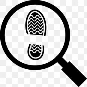 Magnifying Glass - Magnifying Glass Footprint Printing Magnifier PNG