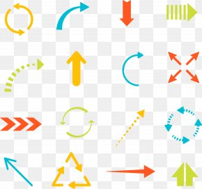 A Variety Of Shapes Arrow - Arrow Euclidean Vector Icon PNG