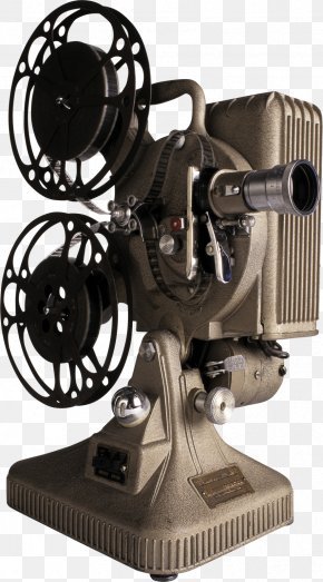 Vintage Camera - Movie Projector 8 Mm Film Cinema Reel PNG