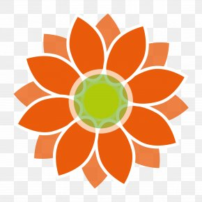 Flower Power - Vector Graphics Clip Art Drawing Image Illustration PNG