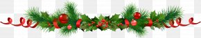 Garlands - Common Holly Christmas Ornament Christmas Decoration Santa Claus PNG