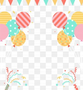 Lively Party Carnival - Party Hat Carnival Balloon Birthday PNG
