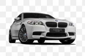 Car - BMW 5 Series Car Alloy Wheel Tire Bumper PNG