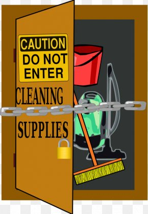 Cliparts Cleaning Supplies - Cleaner Cleaning Cleanliness Broom Clip Art PNG