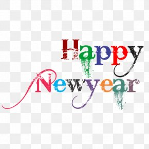 Happy New Year - New Year's Day Desktop Wallpaper Clip Art PNG