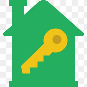 Home, Green, House Key - Real Estate House Building Apartment PNG