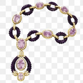 Rose Quartz Necklace - Jewellery Necklace Gemstone Van Cleef & Arpels Tayloru2013Burton Diamond PNG