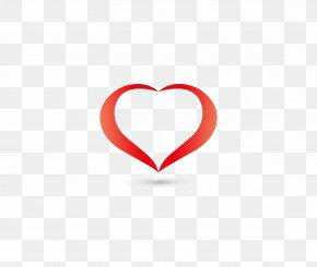 Heart Vector Diagram - Red Heart Pattern PNG