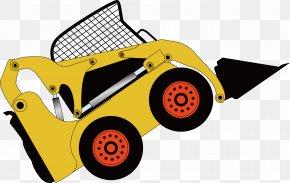 Design Of Exquisite Excavator Decoration Vector - Car Automotive Design Illustration PNG