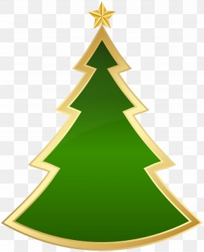 Christmas Deco Tree Clip Art Image - Christmas Tree Clip Art PNG