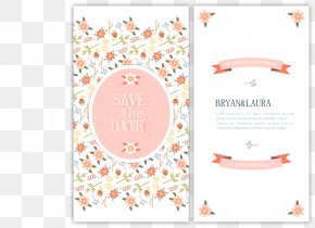 Vector Wedding Invitation - Wedding Invitation Euclidean Vector Marriage Flower PNG