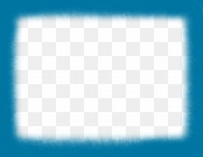 Blue Border - Blue Square Area Chessboard Pattern PNG