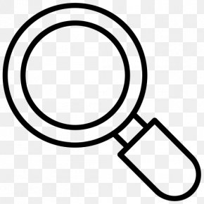 Holding A Magnifying Glass - Magnifying Glass Detective Clip Art PNG