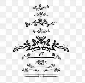 Rose Border - Flower Euclidean Vector Clip Art PNG