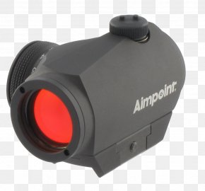 Collimator Sight - Aimpoint AB Reflector Sight Red Dot Sight Aimpoint Micro H-1 2 MOA W/Standard Mount PNG