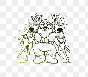 Coloring Book Christmas Coloring Pages Santa Claus Christmas Day PNG
