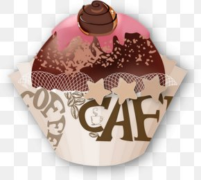 Cafe Illustration - Cupcake Coffee Bakery Cafe Muffin PNG