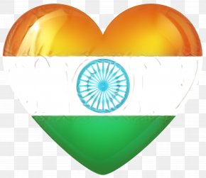 Symbol Heart - India Independence Day National Day PNG