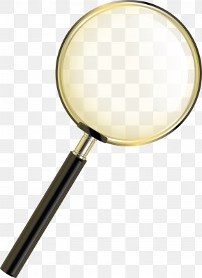 Magnifying Glass Vector Element - Magnifying Glass Mirror PNG