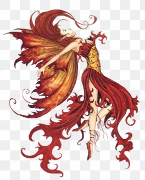 Fairy Queen - Fairy Tale Legendary Creature Fire PNG