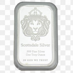 Silver Bar - Scottsdale Material Silver PNG
