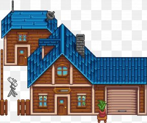 House - Stardew Valley Carpenter House Pole Building Framing PNG