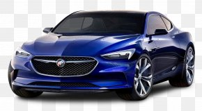 Buick Avista Blue Car - Buick Avista North American International Auto Show General Motors Car PNG