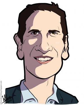 Cartoon Shark Pics - Shark Tank Mark Cuban Cartoon Clip Art PNG