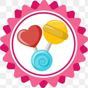 Lollipop Label - Lollipop Clip Art PNG