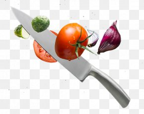 Vegetable Knife - Vegetable Kitchen Knife Fork PNG