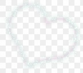 Creative Love Shape Effect Starlight Particles - White Black Pattern PNG