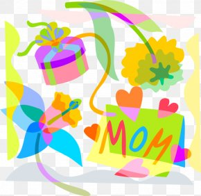 Mothers Day Clip Art Png Illustration - Mother's Day Father's Day Clip Art PNG