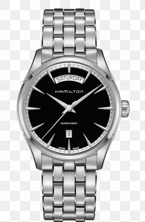 Hamilton Watch Black Male Watch Mechanical Watch - Hamilton Watch Company Lancaster Fender Jazzmaster Rolex Day-Date PNG
