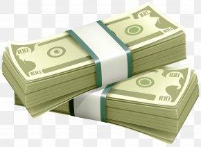 Falling Money - Money Bag United States Dollar Clip Art PNG