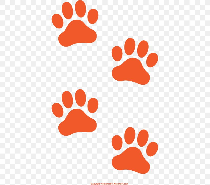 Cat Tiger Dog Paw Clip Art, PNG, 417x723px, Cat, Animal Track, Area, Blue, Dog Download Free
