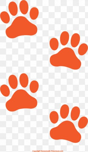 Paw Print Cliparts - Cat Tiger Dog Paw Clip Art PNG