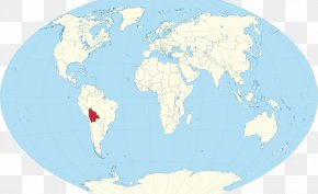 World Map - Colombia World Map Globe PNG
