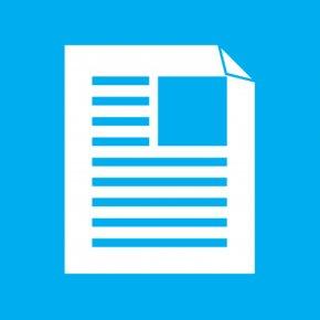 25 - Metro Document Icon Design PNG