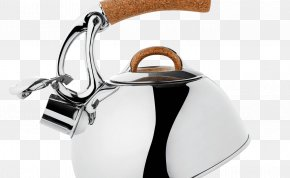 Kettle - Kettle Teapot Stainless Steel Brushed Metal PNG