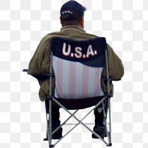 Sitting Man - Chair Sitting Manspreading Garden Furniture PNG