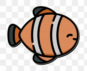 Butterflyfish Pomacentridae - Tropical Icon Ocean Icon Clown Fish Icon PNG
